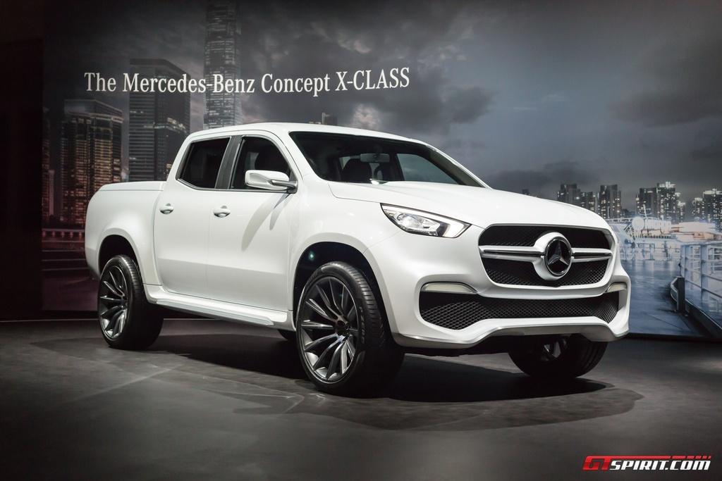 Mercedes-Benz trung bay xe ban tai hang sang X-Class concept hinh anh 2