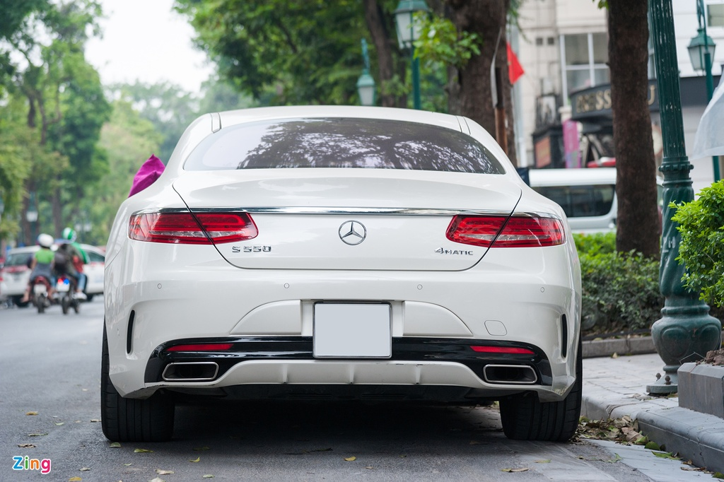 Mercedes-Benz S550 4MATIC Coupe doc nhat Viet Nam hinh anh 5