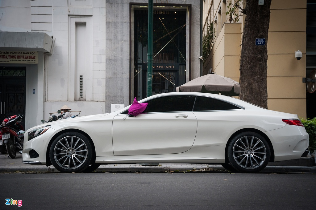 Mercedes-Benz S550 4MATIC Coupe doc nhat Viet Nam hinh anh 2