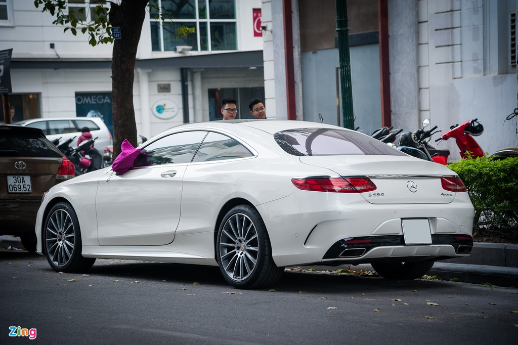 Mercedes-Benz S550 4MATIC Coupe doc nhat Viet Nam hinh anh 4