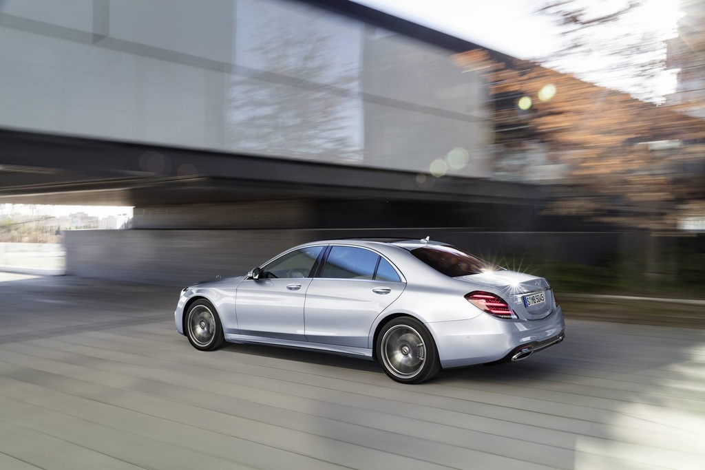 Mercedes-Benz trinh lang sedan cao cap S-Class 2018 hinh anh 6