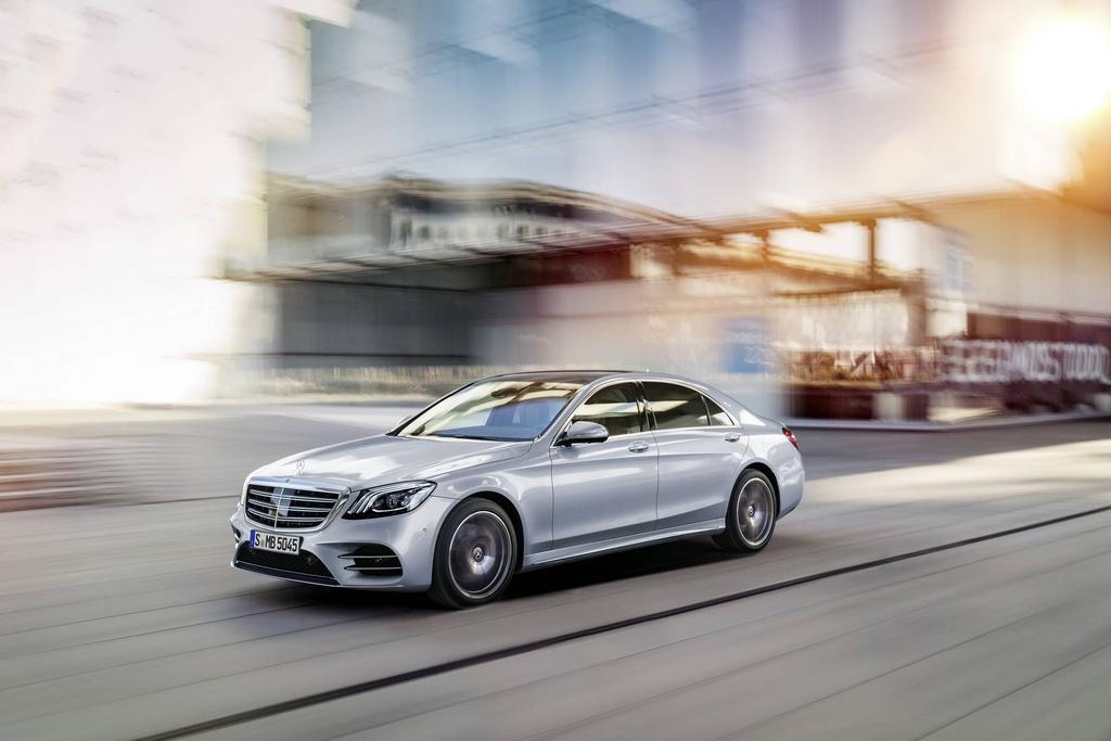 Mercedes-Benz trinh lang sedan cao cap S-Class 2018 hinh anh 2