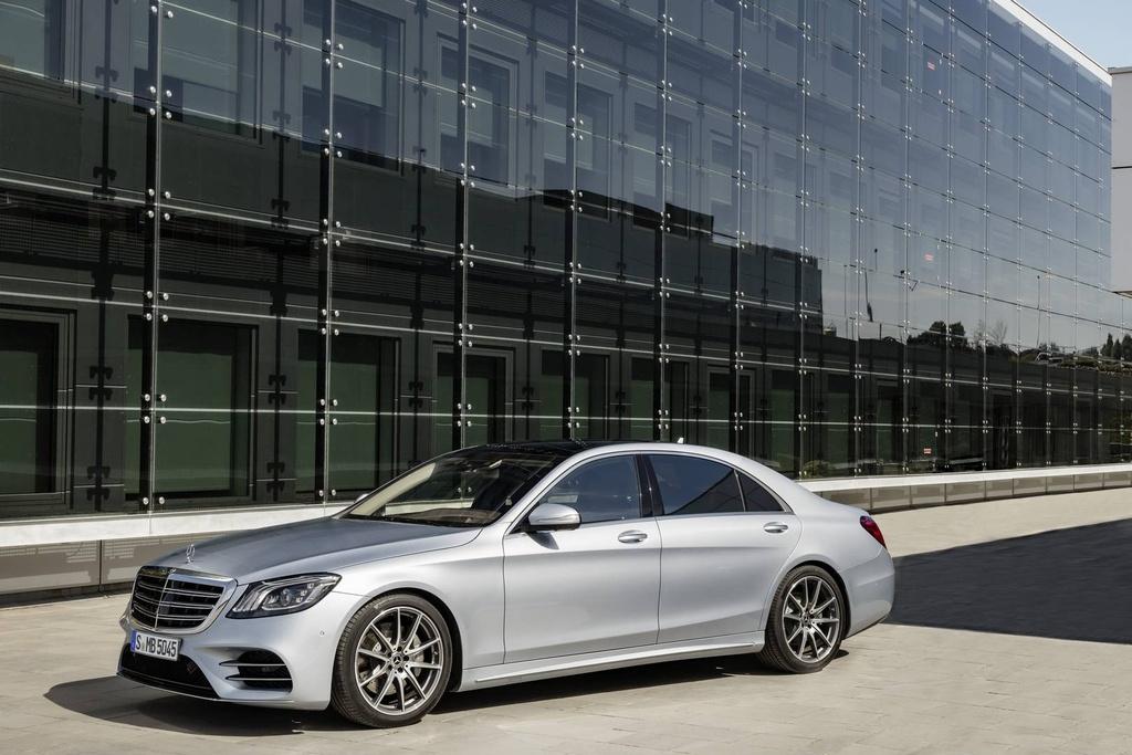 Mercedes-Benz trinh lang sedan cao cap S-Class 2018 hinh anh 1