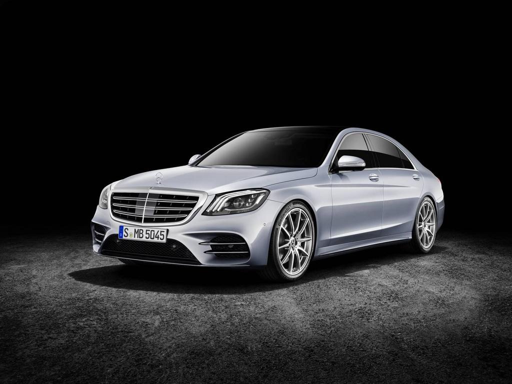 Mercedes-Benz trinh lang sedan cao cap S-Class 2018 hinh anh 10