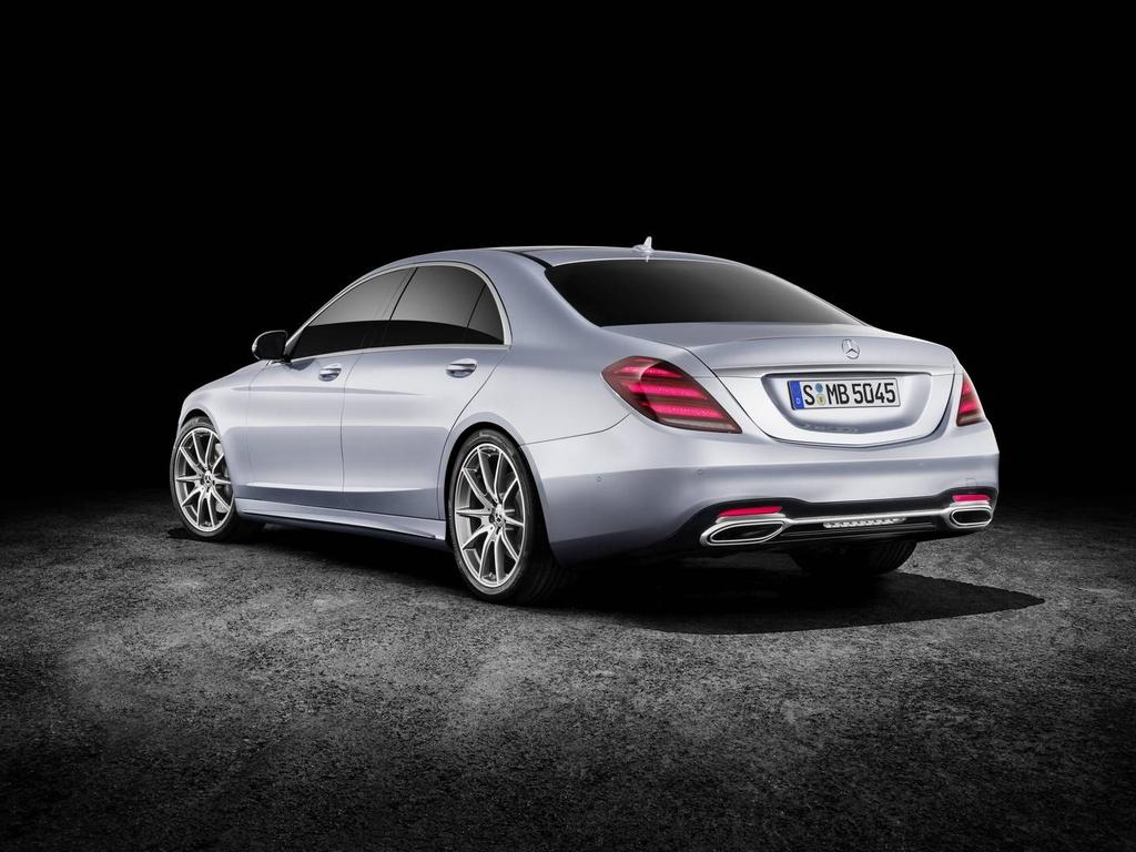 Mercedes-Benz trinh lang sedan cao cap S-Class 2018 hinh anh 8