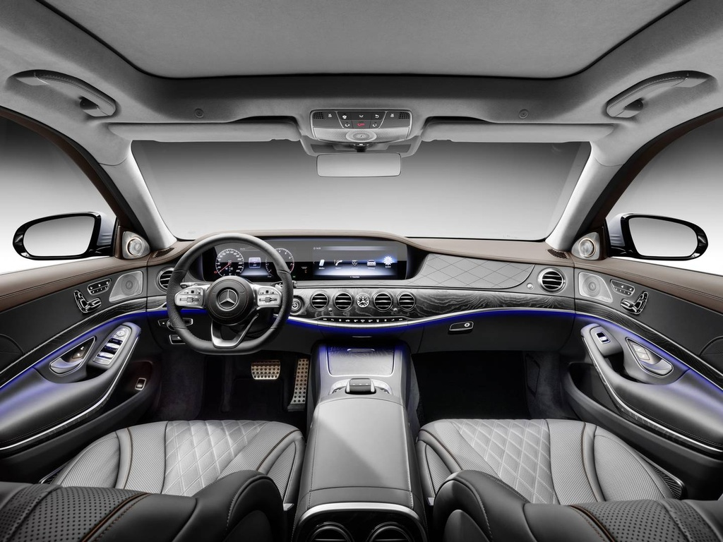 Mercedes-Benz trinh lang sedan cao cap S-Class 2018 hinh anh 3