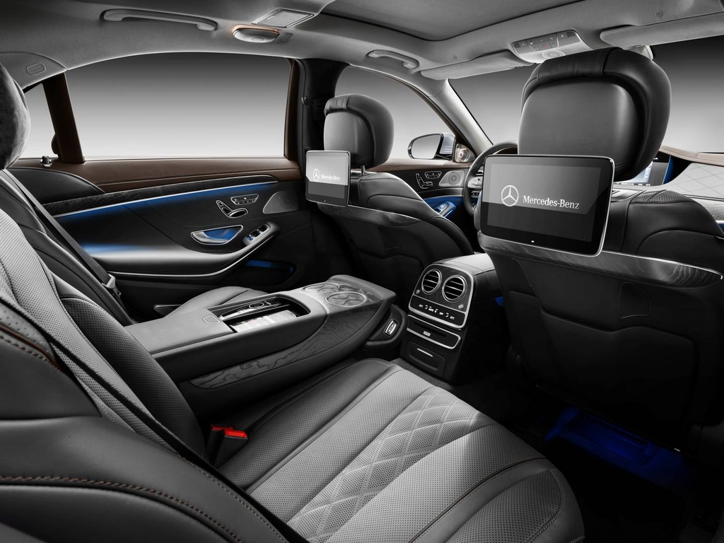 Mercedes-Benz trinh lang sedan cao cap S-Class 2018 hinh anh 5