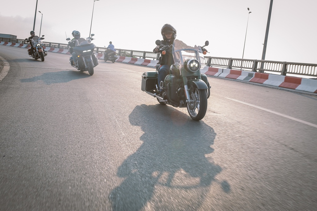 Biker Viet chay Harley-Davidson tu Sai Gon ra Ha Noi anh 8