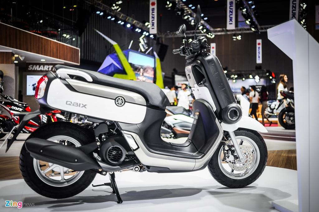 Xe tay ga Yamaha QBIX kieu dang la mat tai Viet Nam hinh anh 3