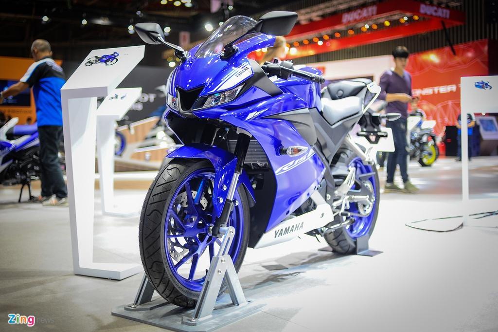 Yamaha YZF-R15 2017 tai VN co den pha LED, dong ho dien tu hinh anh 1