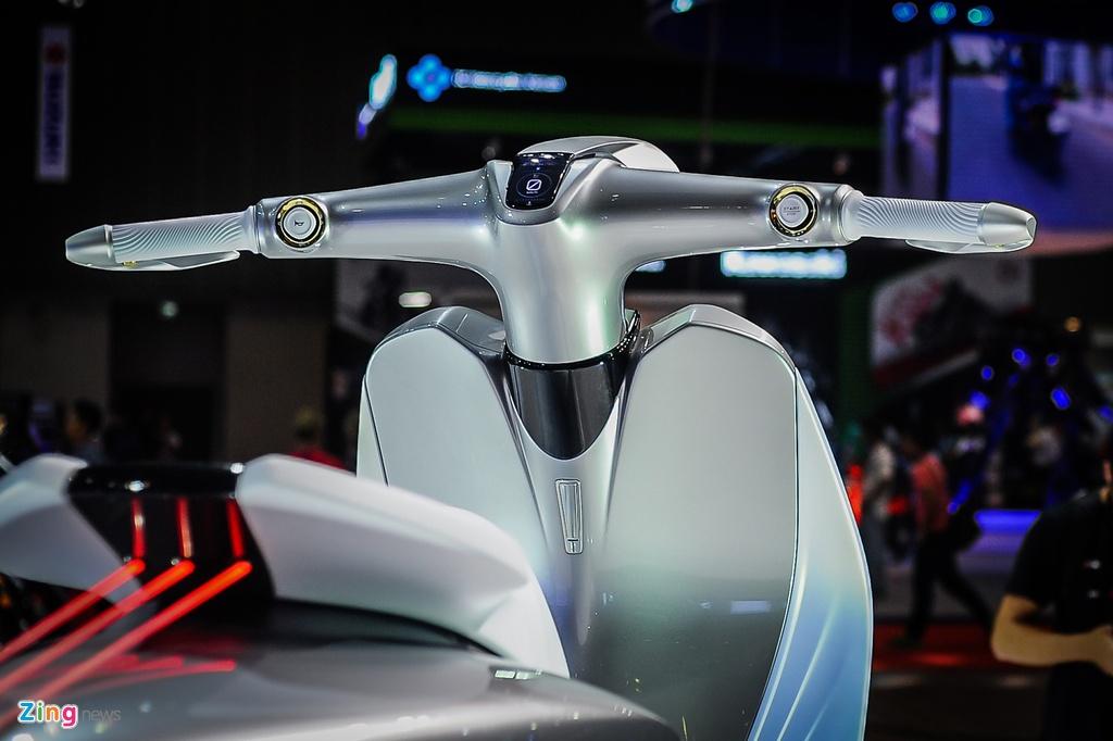 xe concept doc nhat Viet Nam Yamaha Glorious anh 5
