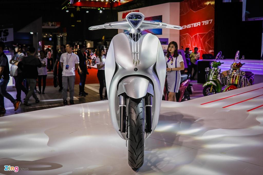 xe concept doc nhat Viet Nam Yamaha Glorious anh 1