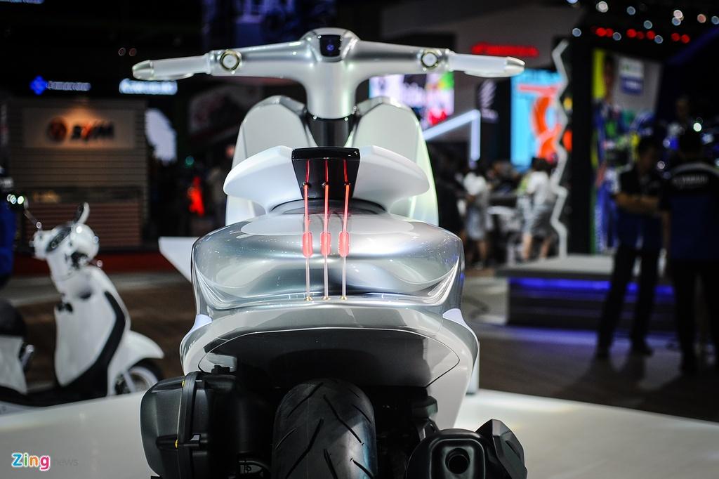 xe concept doc nhat Viet Nam Yamaha Glorious anh 6