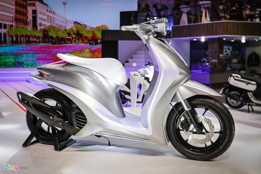 xe concept doc nhat Viet Nam Yamaha Glorious anh 2