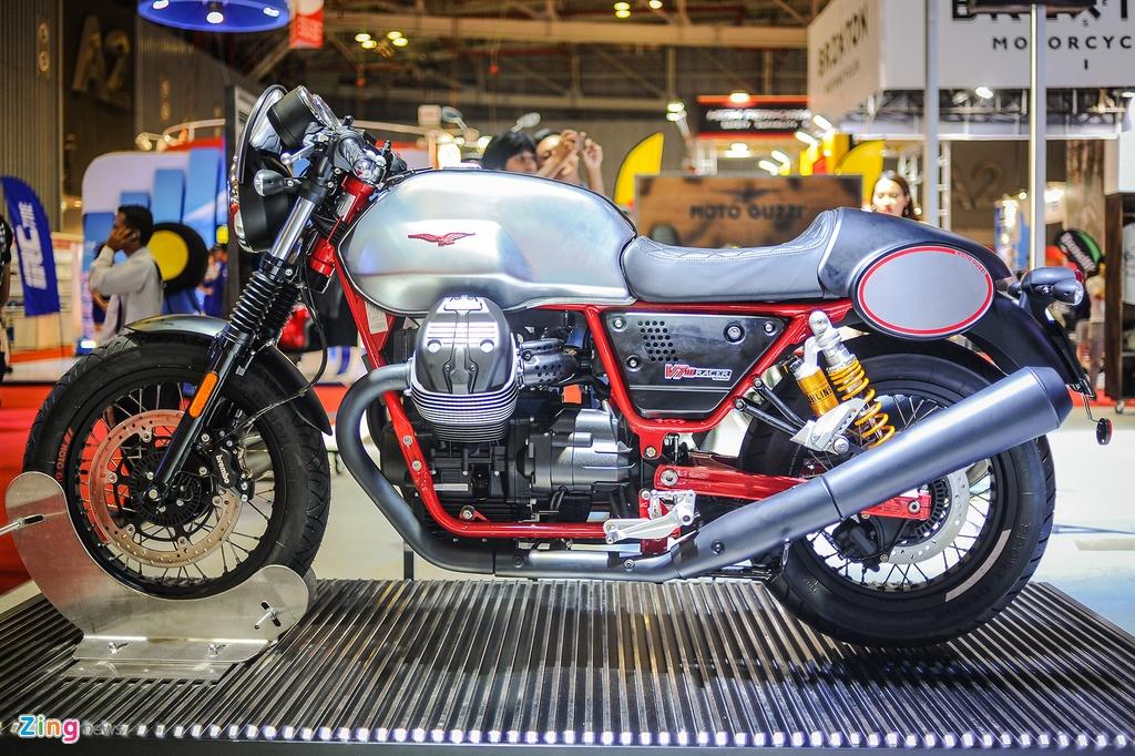 Moto Guzzi V7 III Racer chinh hang anh 2