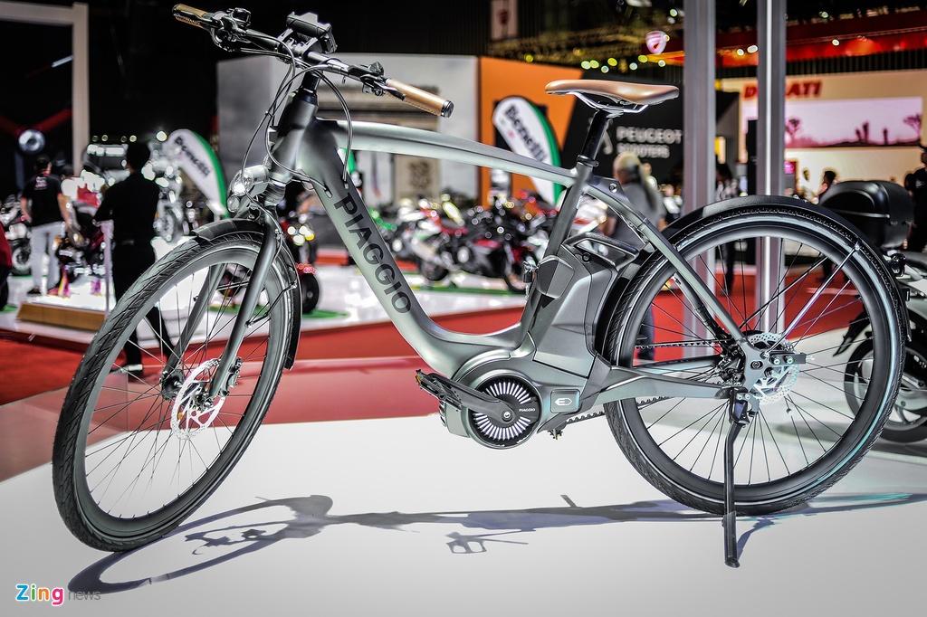 xe dap dien cao cap Piaggio Wi-Bike Active anh 1