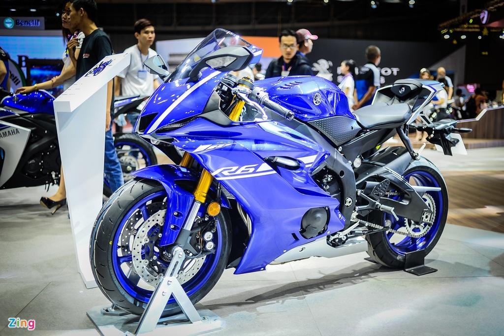 Yamaha YZF-R6 2017 kieu dang moi tai Viet Nam hinh anh 1