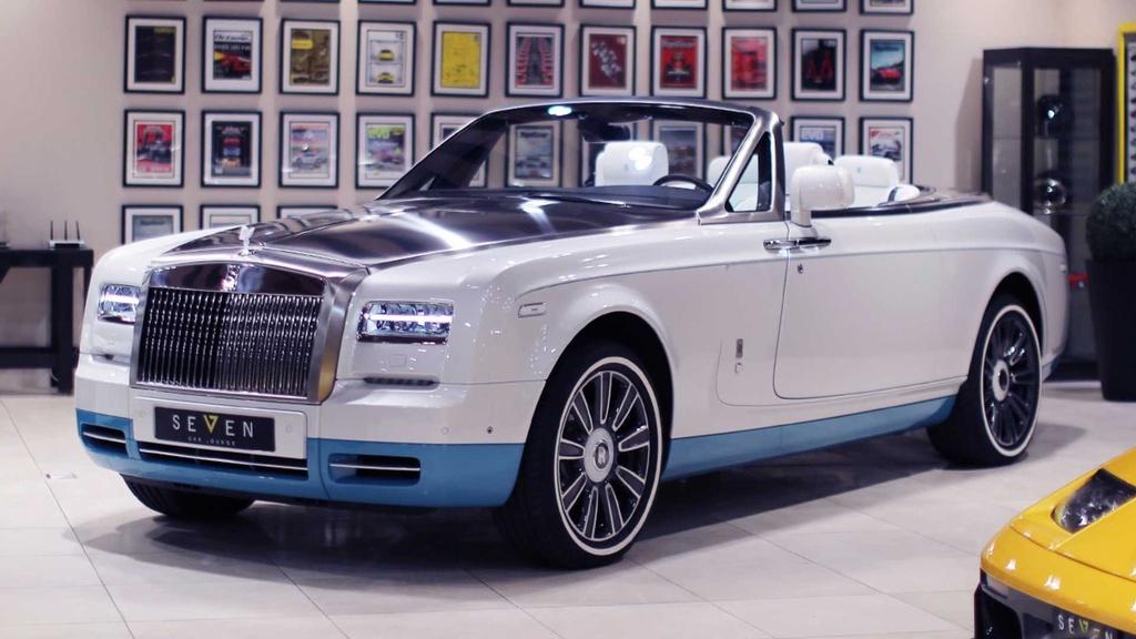 Rolls-Royce Phantom mui tran cuoi cung ra mat tai A-rap hinh anh 1