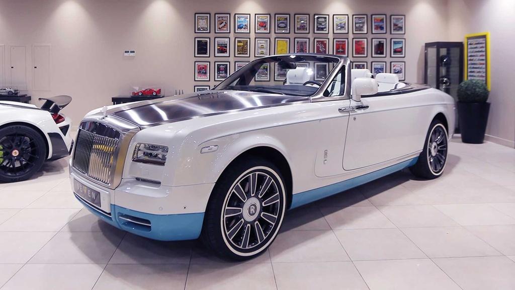 Rolls-Royce Phantom mui tran cuoi cung ra mat tai A-rap hinh anh 2