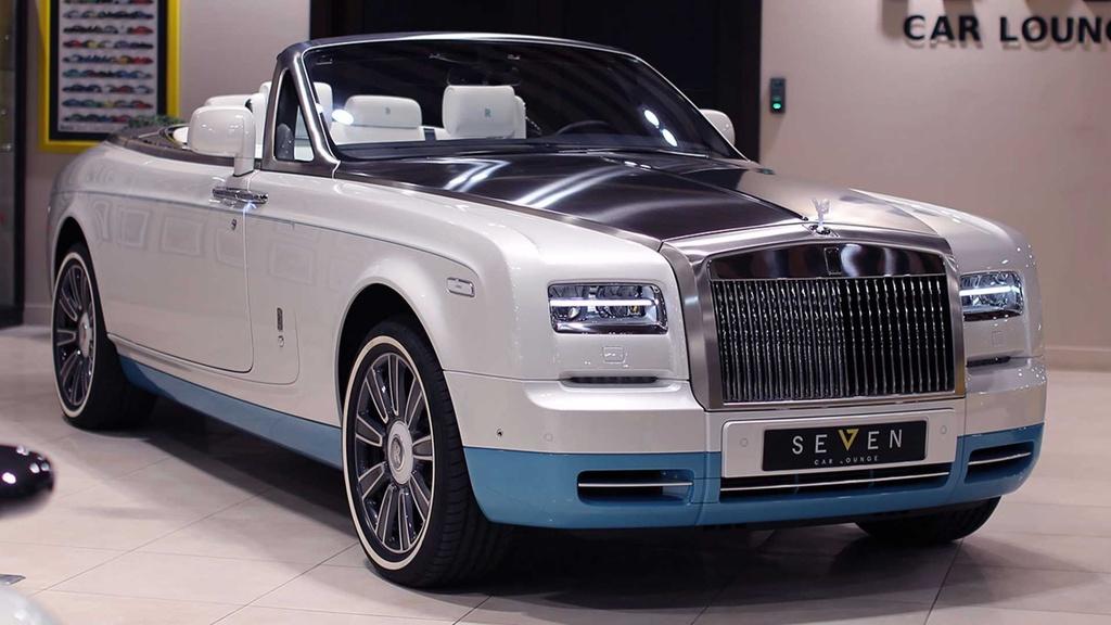 Rolls-Royce Phantom mui tran cuoi cung ra mat tai A-rap hinh anh 4