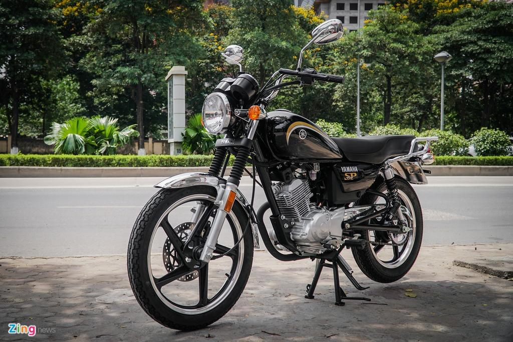 Xe con tay Yamaha 125 phan khoi, gia hon 40 trieu tai Ha Noi hinh anh 1