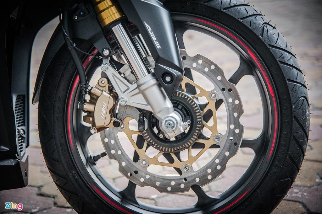 Honda CBR250RR 2017 gia hon 200 trieu dau tien tai Ha Noi hinh anh 6