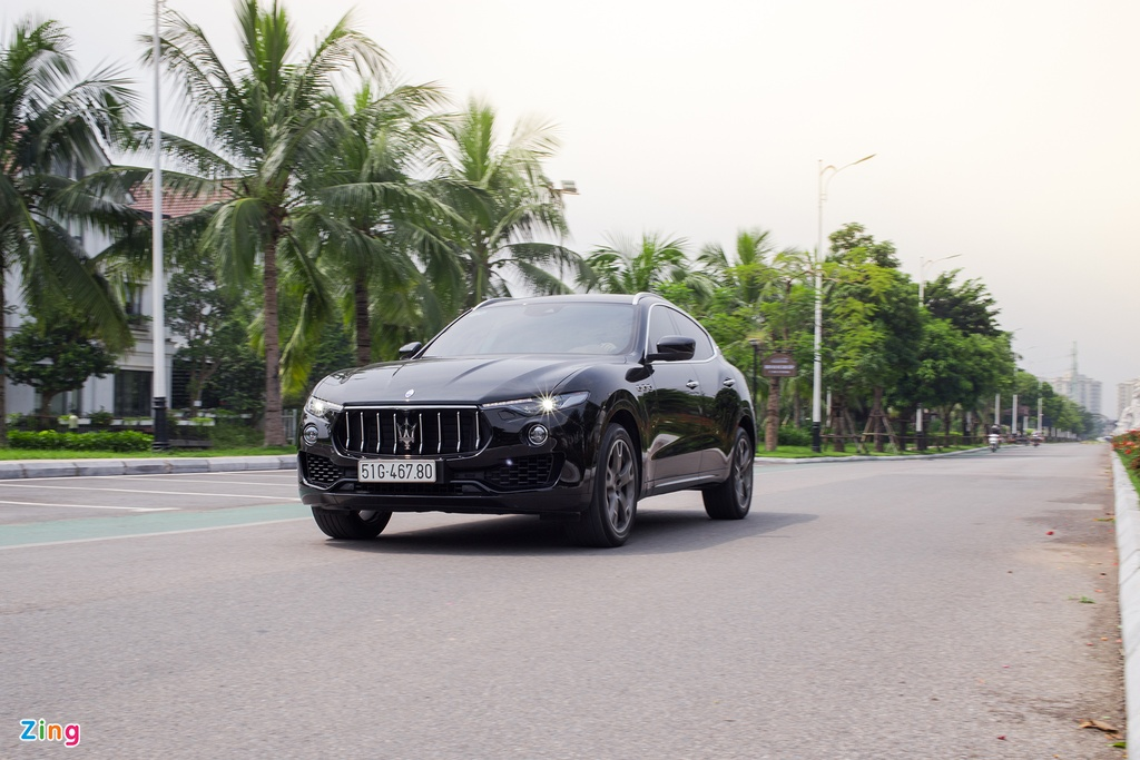 Maserati Levante tai Viet Nam anh 7