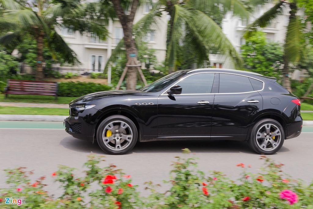 Maserati Levante tai Viet Nam anh 6