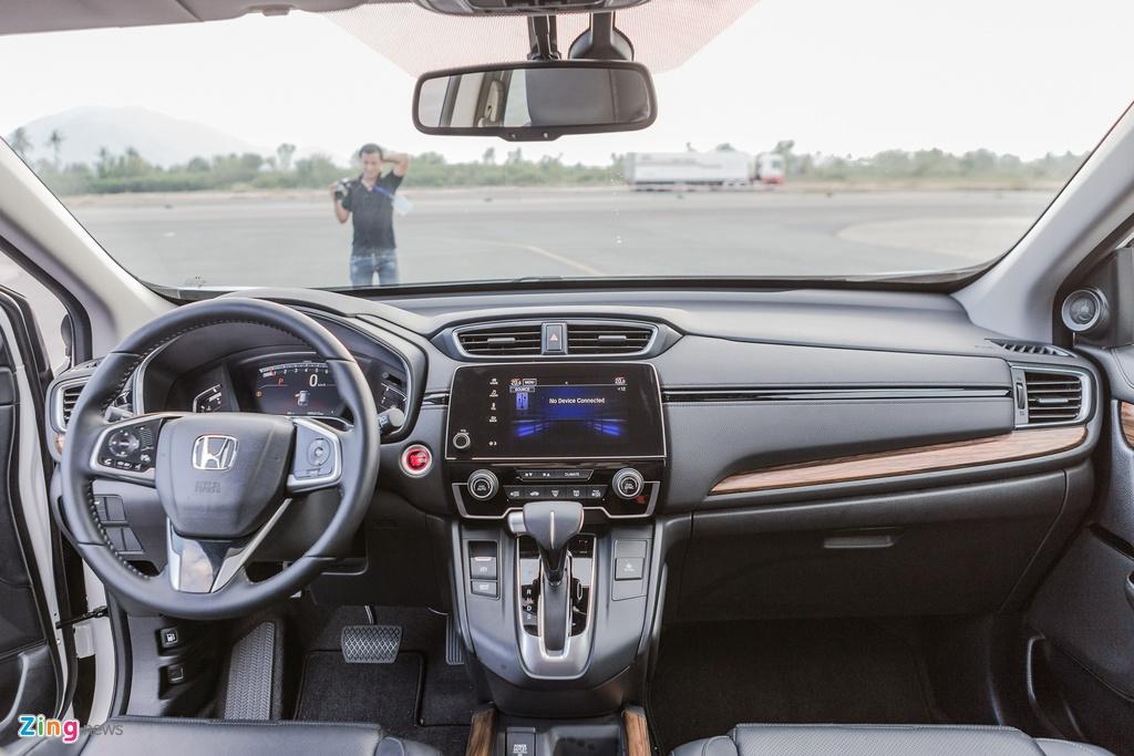 Honda CR-V moi lot xac so voi the he cu hinh anh 14