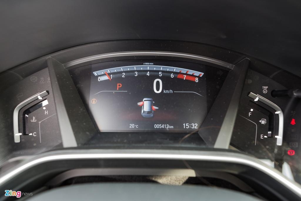 Honda CR-V moi lot xac so voi the he cu hinh anh 16