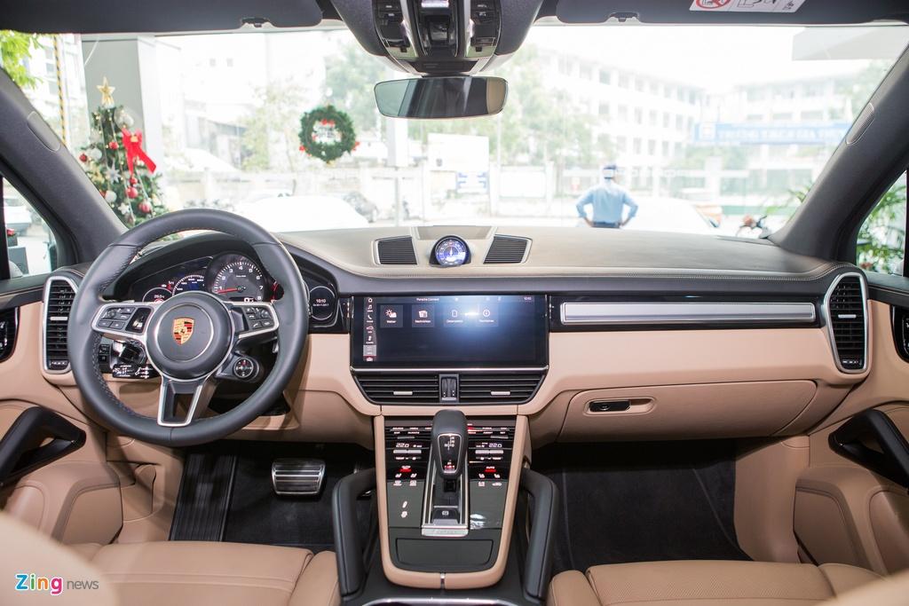 Porsche Cayenne S 2018 ban do phu kien gia hon 7 ty tai Viet Nam hinh anh 6