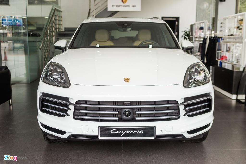 Porsche Cayenne S 2018 ban do phu kien gia hon 7 ty tai Viet Nam hinh anh 1