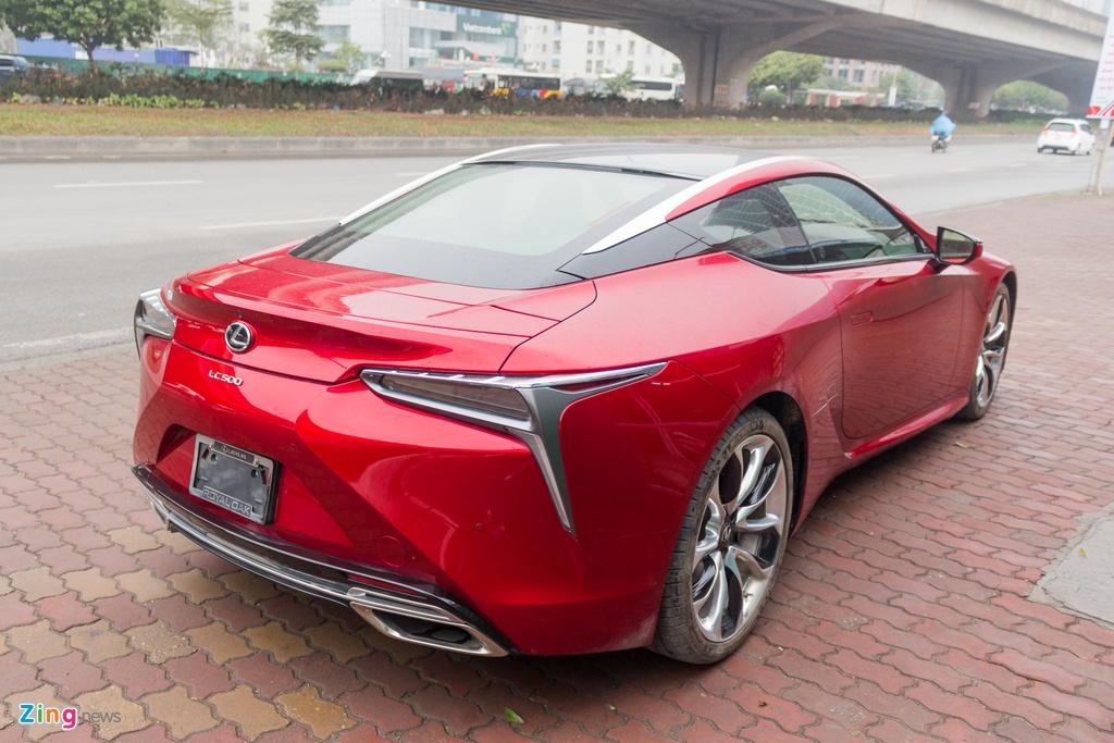 Lexus LC 500 2018 tai Viet Nam anh 3