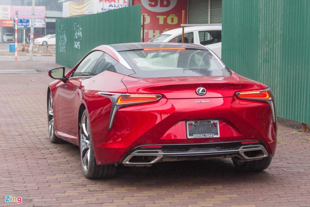 Lexus LC 500 2018 tai Viet Nam anh 2