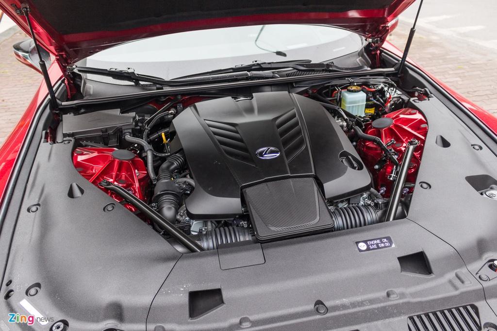 Lexus LC 500 2018 tai Viet Nam anh 12