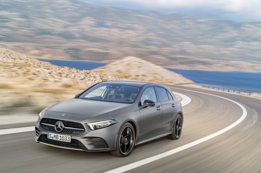 Mercedes-Benz A-Class 2018 thay doi dien mao, len ke thang 3 hinh anh 12