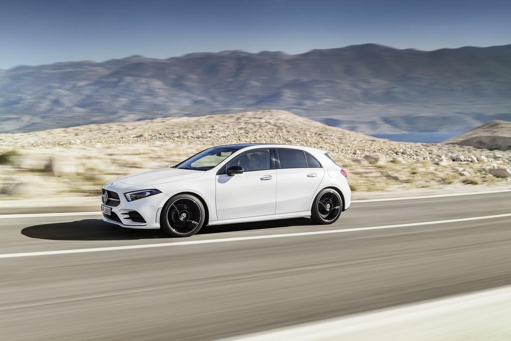 Mercedes-Benz A-Class 2018 thay doi dien mao, len ke thang 3 hinh anh 2