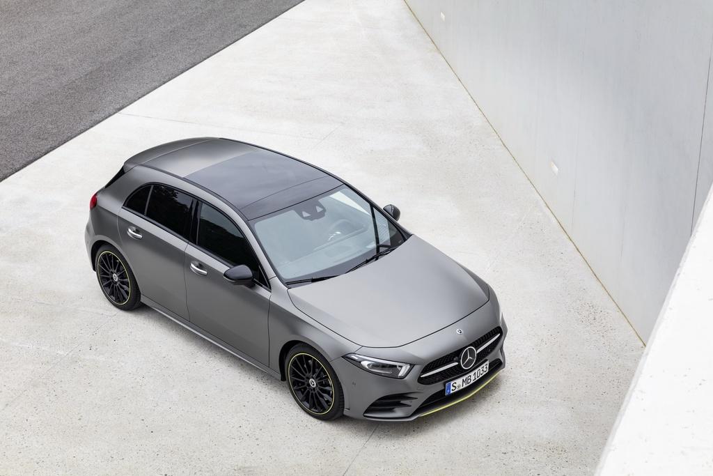 Mercedes-Benz A-Class 2018 thay doi dien mao, len ke thang 3 hinh anh 14