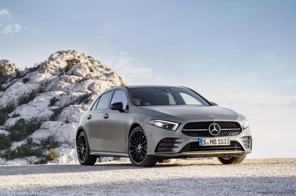 Mercedes-Benz A-Class 2018 thay doi dien mao, len ke thang 3 hinh anh 4