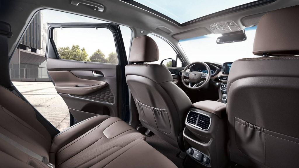 Hyundai Santa Fe 2019 lot xac hoan toan hinh anh 8