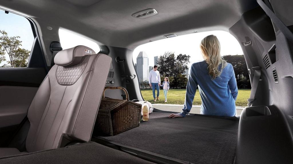 Hyundai Santa Fe 2019 lot xac hoan toan hinh anh 9