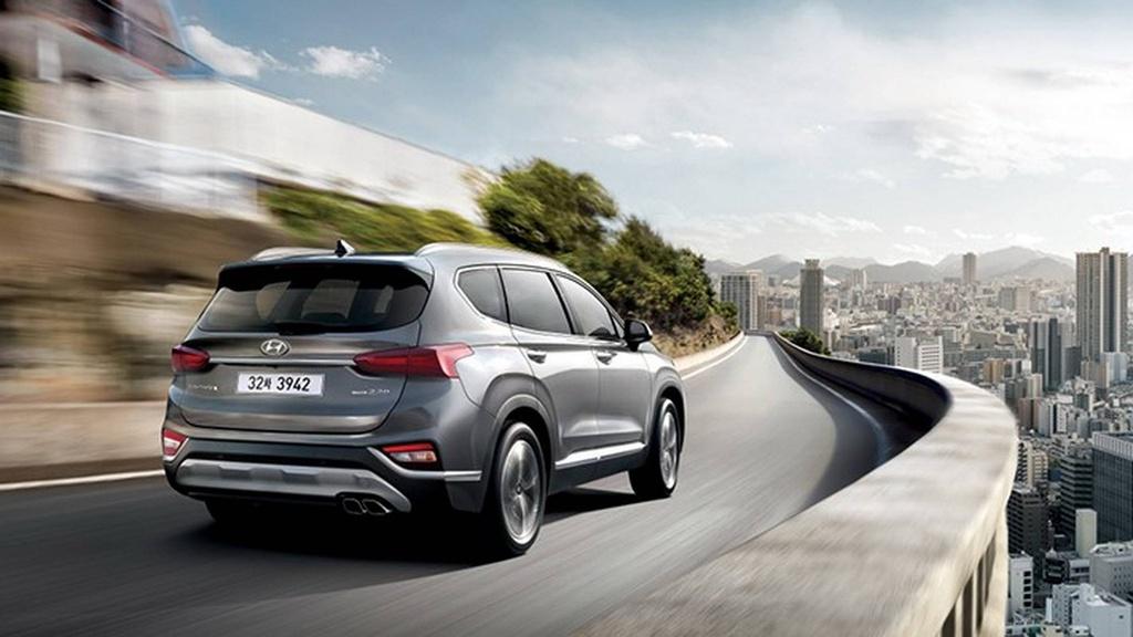 Hyundai Santa Fe 2019 lot xac hoan toan hinh anh 6