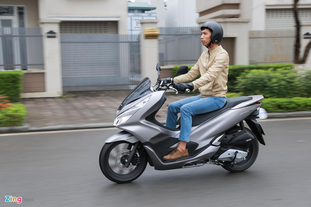 danh gia Honda PCX 150 2018 anh 5