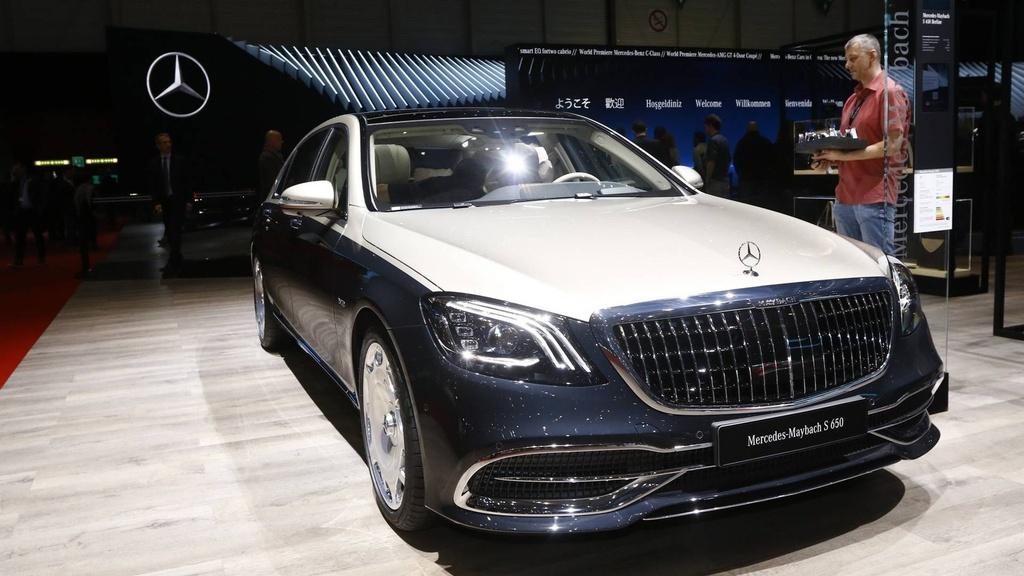 Mercedes-Benz S-Class Maybach 2019 noi bat tai trien lam Geneva hinh anh 1