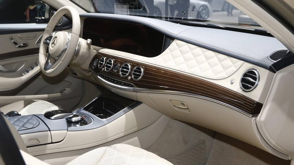 Mercedes-Benz S-Class Maybach 2019 noi bat tai trien lam Geneva hinh anh 5