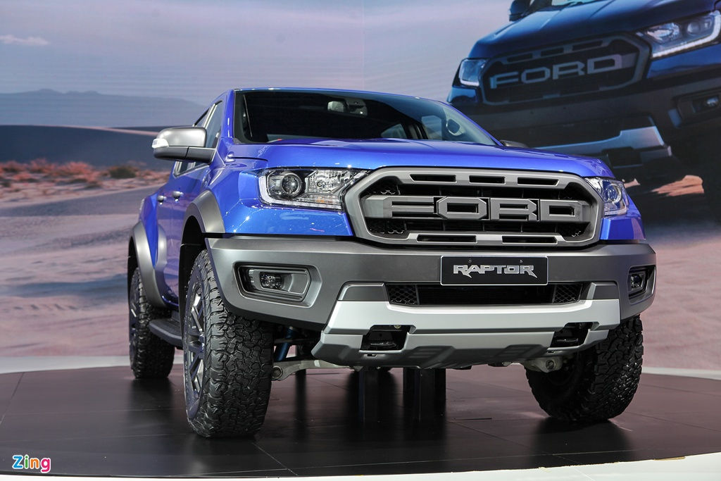 Can canh 'sieu ban tai' Ford Ranger Raptor 2018 hinh anh 1