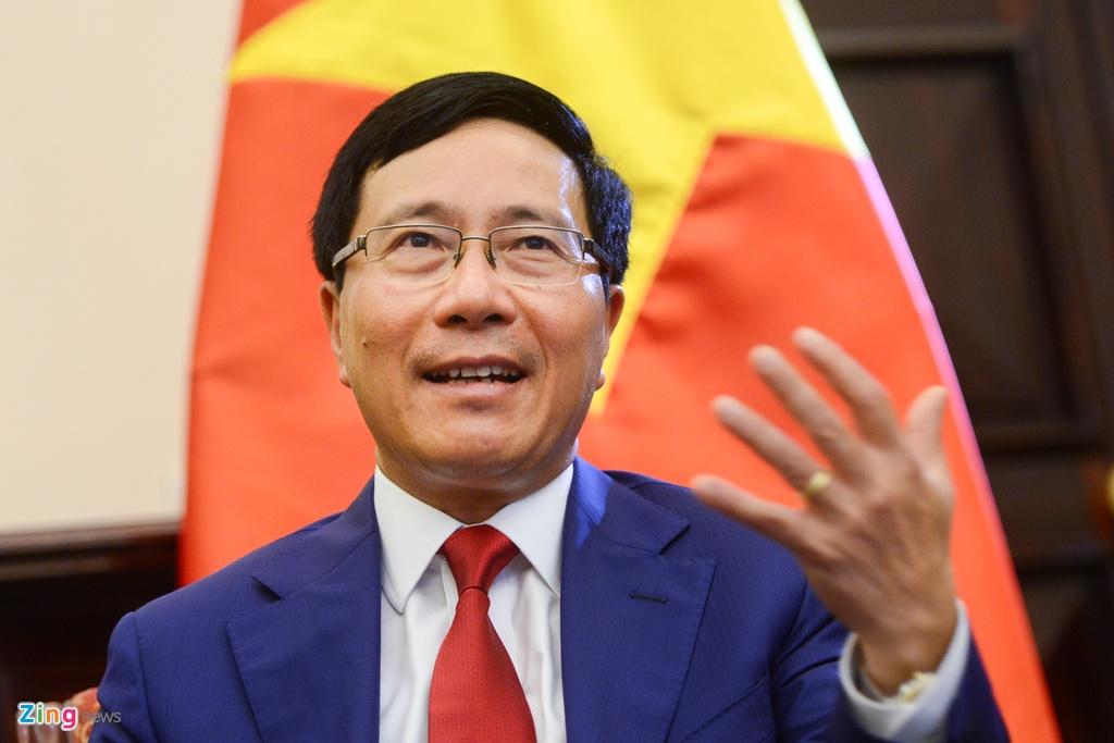 Pham Binh Minh va thach thuc ngoai giao 2017 anh 1