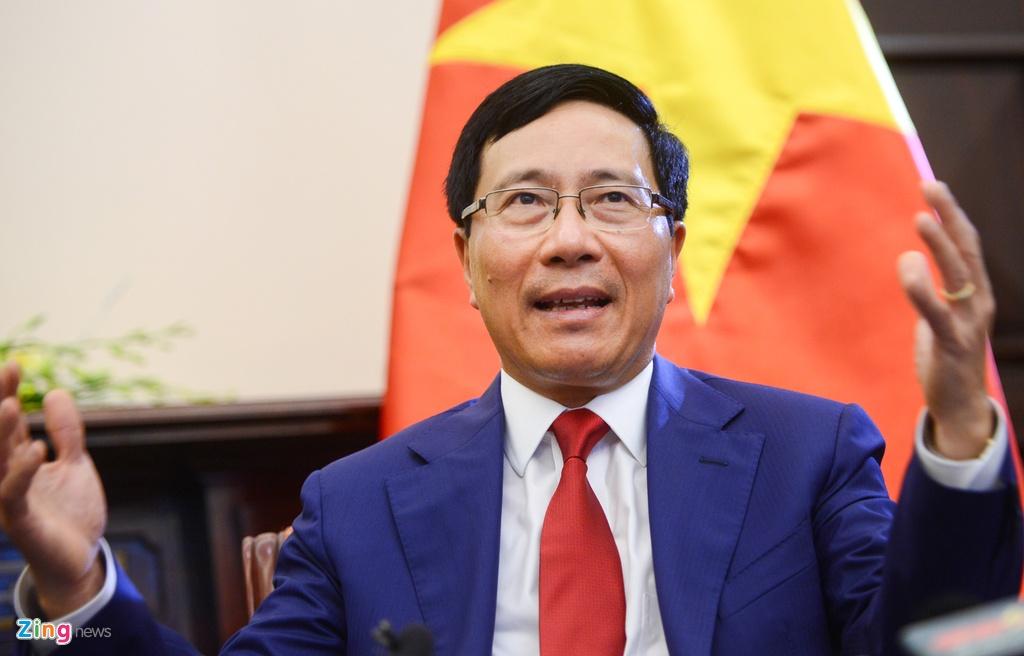 Pham Binh Minh va thach thuc ngoai giao 2017 anh 3