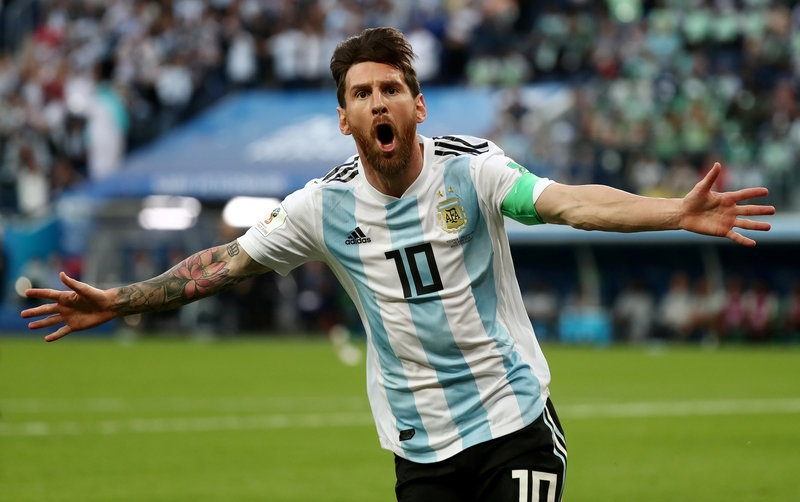 Argentina Nigeria World Cup anh 1