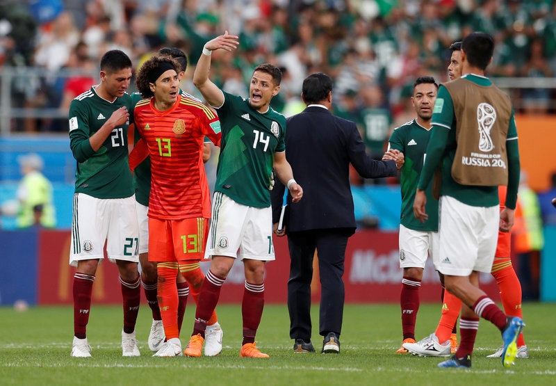 Brazil Mexico World Cup anh 3